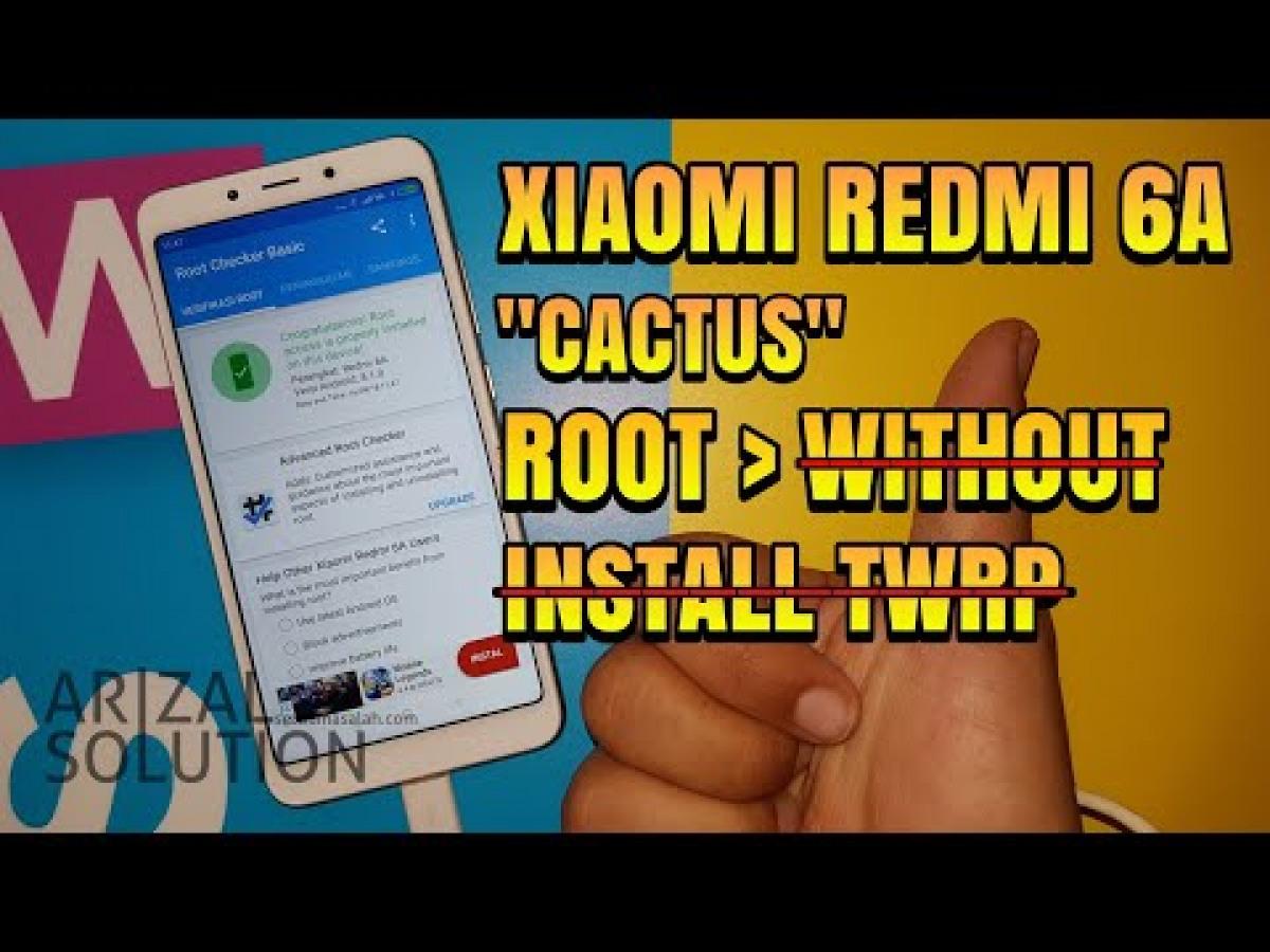 Custom Rom Redmi 6a Cactus